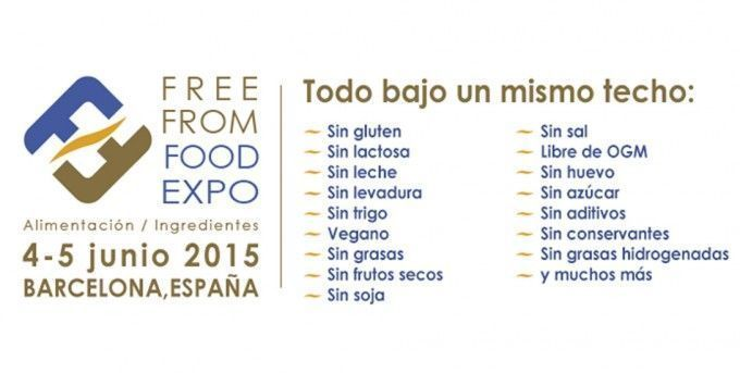 Free From Food Expo 2015 Barcelona