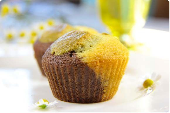 Muffins 3 colores